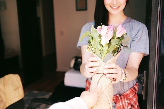 hadiah bunga